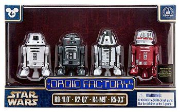 Star Wars The Force Awakens Droid Factory 4-Pack Disney Parks Exclusive